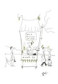 le vendeur d'auréole