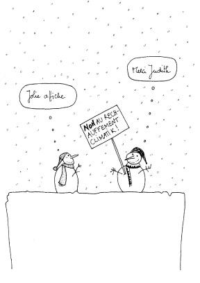 non au réchauffement